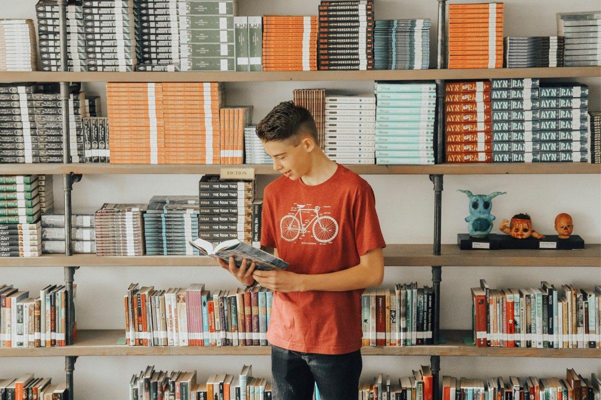 student-reading